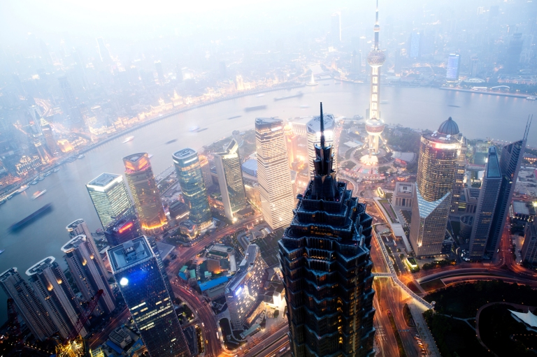 Distrito-de-Pudong-Shangai-China